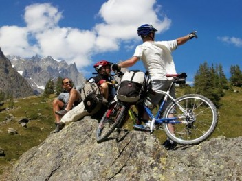 Mountain bike Val Ferret